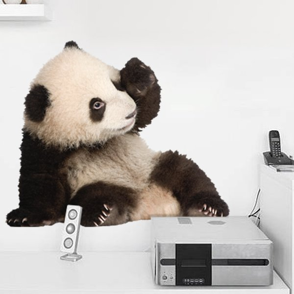 Wall Stickers: Breeding panda bear