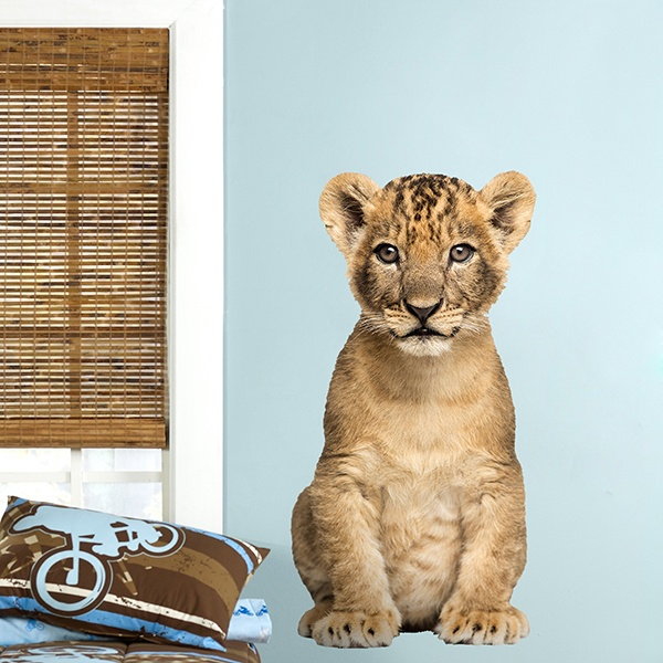 Wall Stickers: Lion cub 1