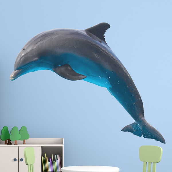 Wall Stickers: Dolphin