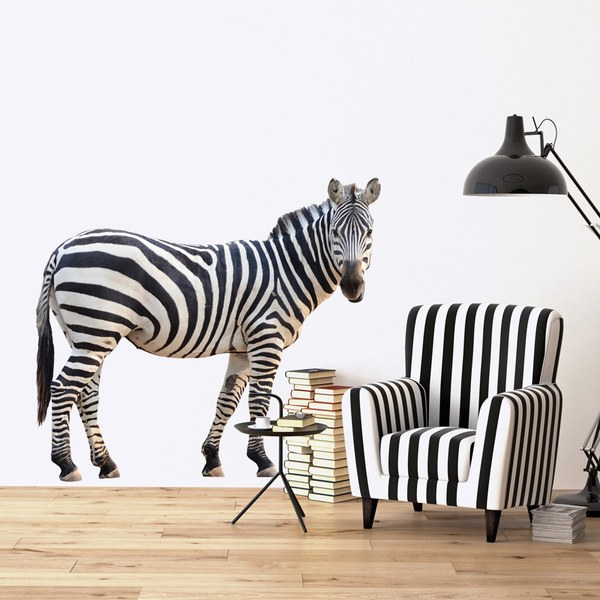 Wall Stickers: Zebra vigilant