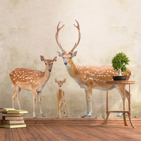 Wall Stickers: Deer family