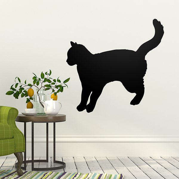 Wall Stickers: Cat Silhouette