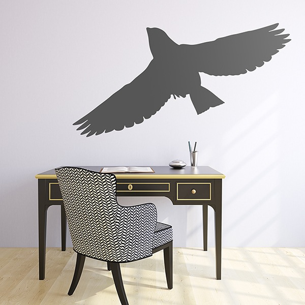 Wall Stickers: Pigeon flying