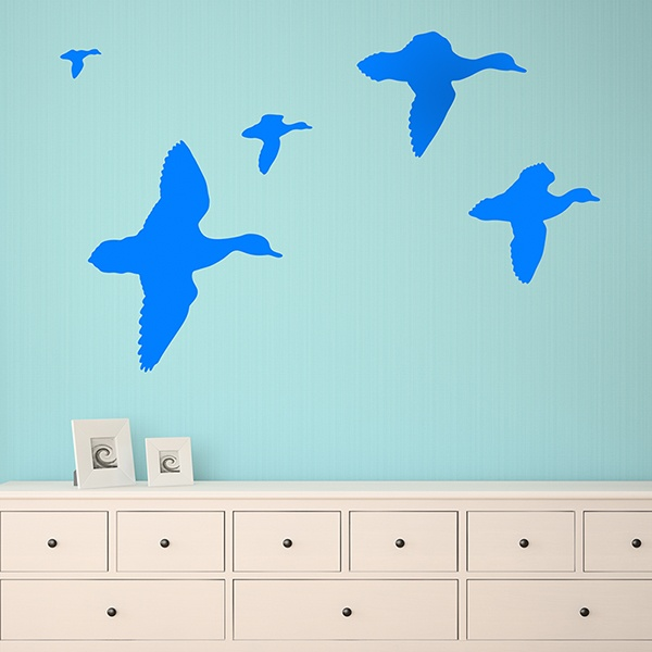 Wall Stickers: Flock of geese
