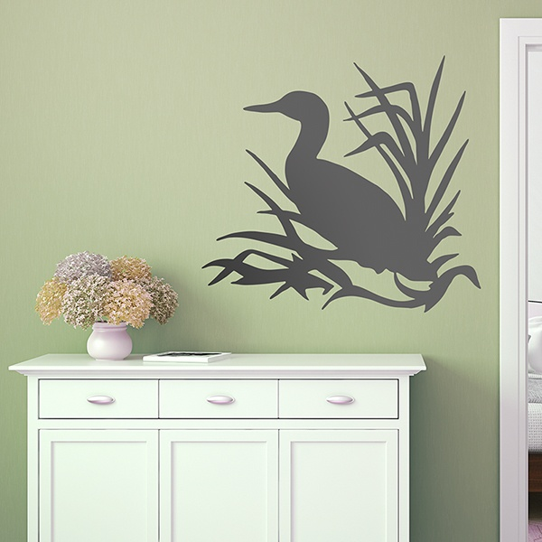 Wall Stickers: Duck among branches