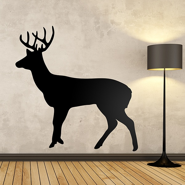 Wall Stickers: Full-length deer