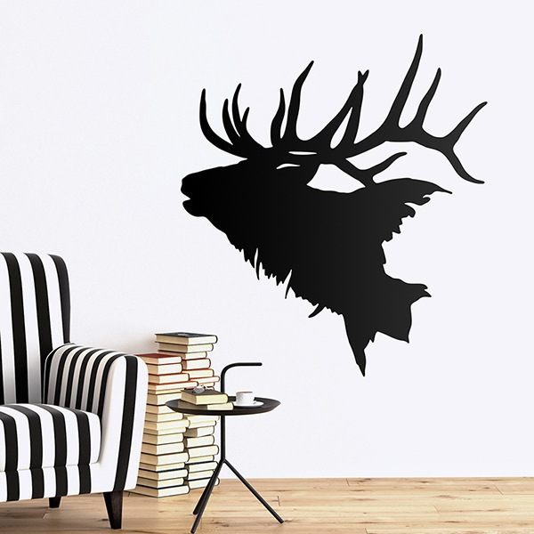 Wall Stickers: Deer bellowing