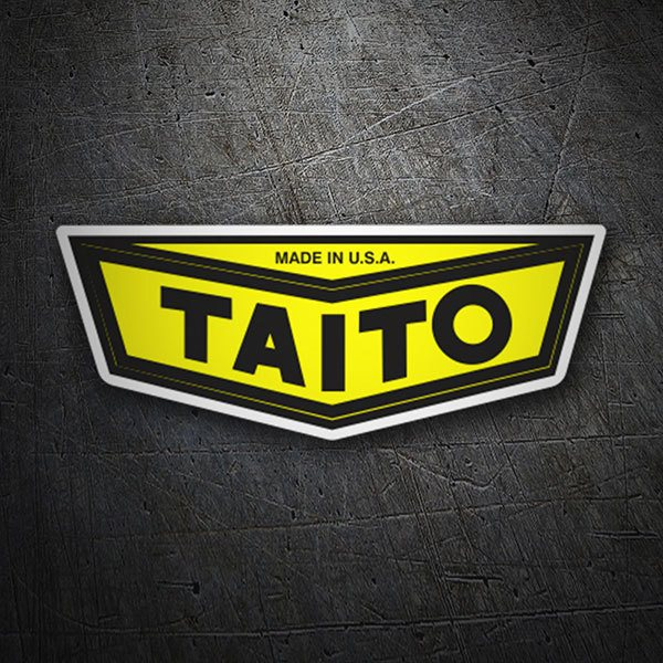 Car & Motorbike Stickers: Taito 1968–1985