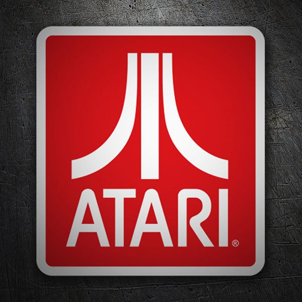 Car & Motorbike Stickers: Atari Logo