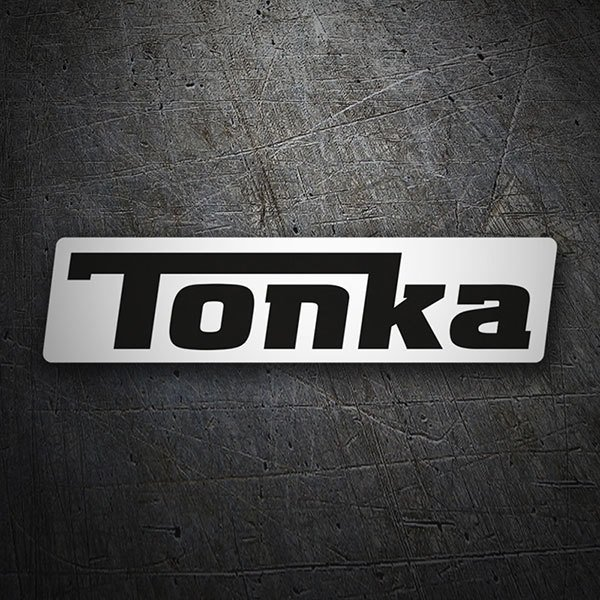 Car & Motorbike Stickers: Tonka