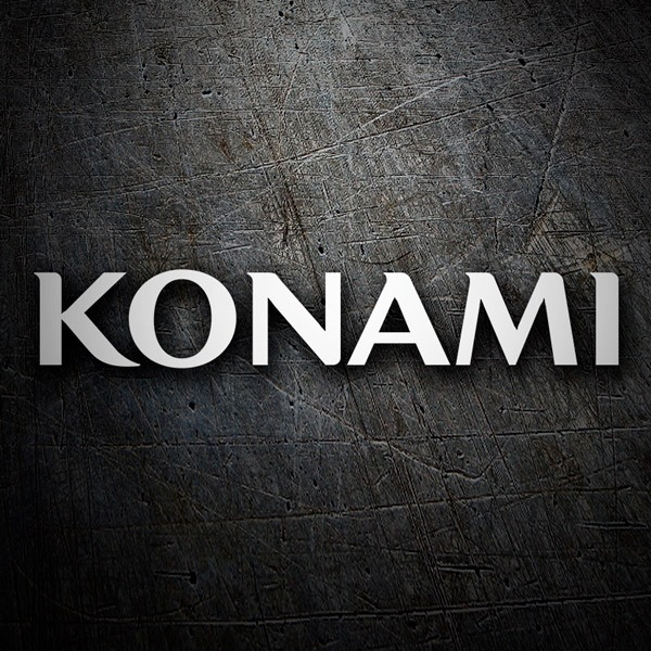 Car & Motorbike Stickers: Konami