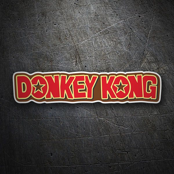 Car & Motorbike Stickers: Donkey Kong