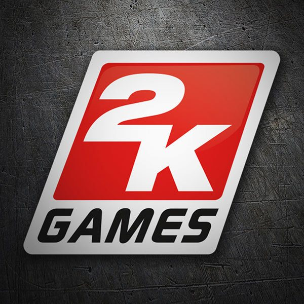 Car & Motorbike Stickers: 2K Games