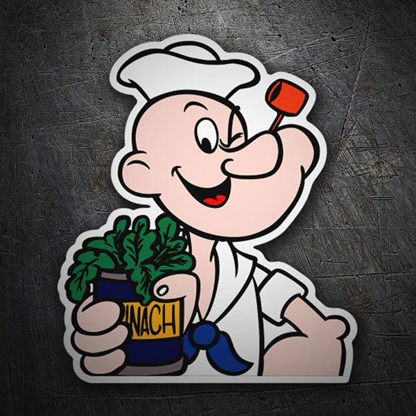 Car & Motorbike Stickers: Popeye