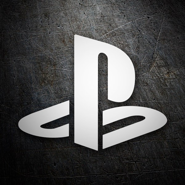Car & Motorbike Stickers: Play Station 1 Logo