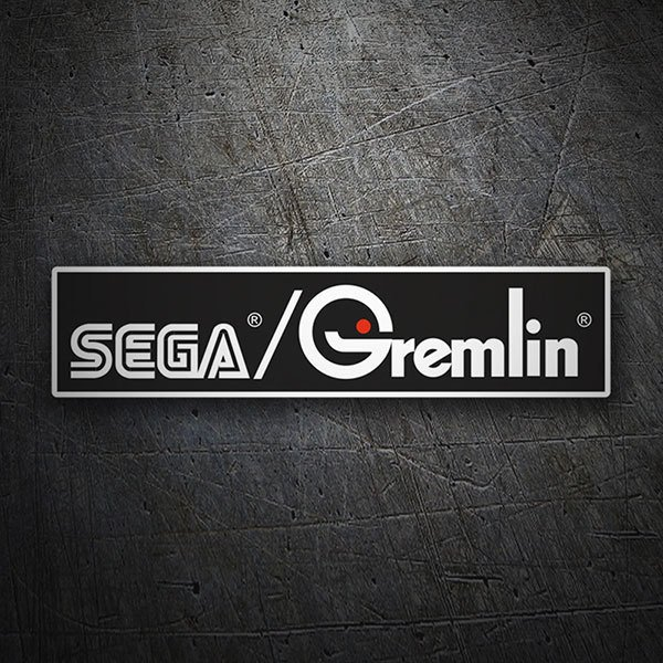 Car & Motorbike Stickers: Sega Gremlin