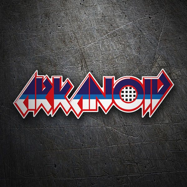 Car & Motorbike Stickers: Arkanoid Logo