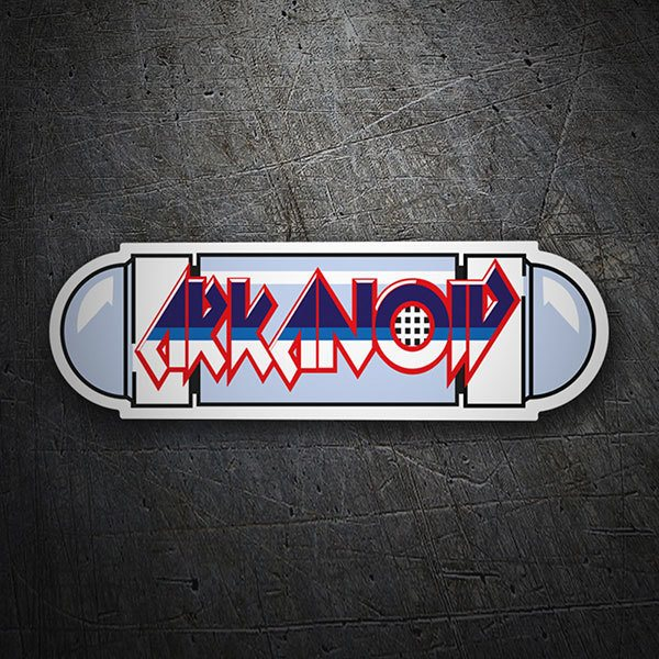Car & Motorbike Stickers: Arkanoid Nave Vaus
