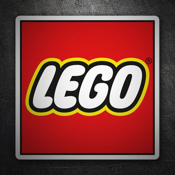 Car & Motorbike Stickers: Lego Logo