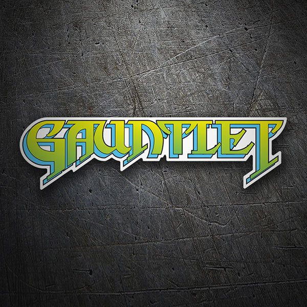 Car & Motorbike Stickers: Gauntlet Logo