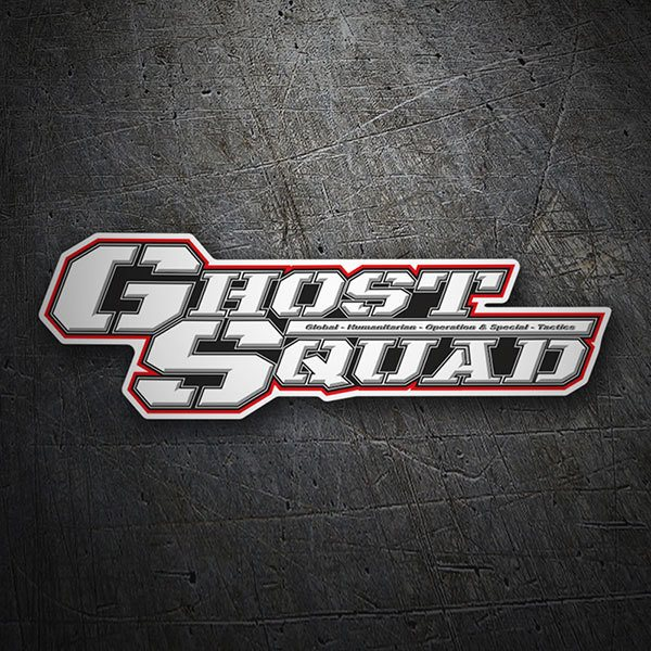 Car & Motorbike Stickers: Ghost Squad Logo