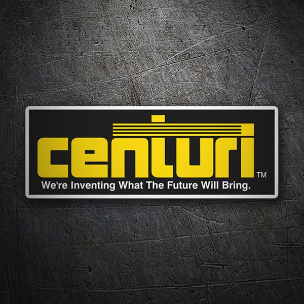 Car & Motorbike Stickers: Centuri TM
