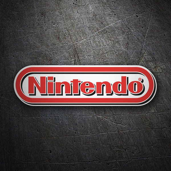 Car & Motorbike Stickers: Nintendo Logo 3D