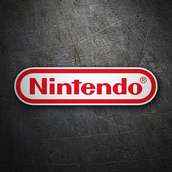 Car & Motorbike Stickers: Nintendo Logo
