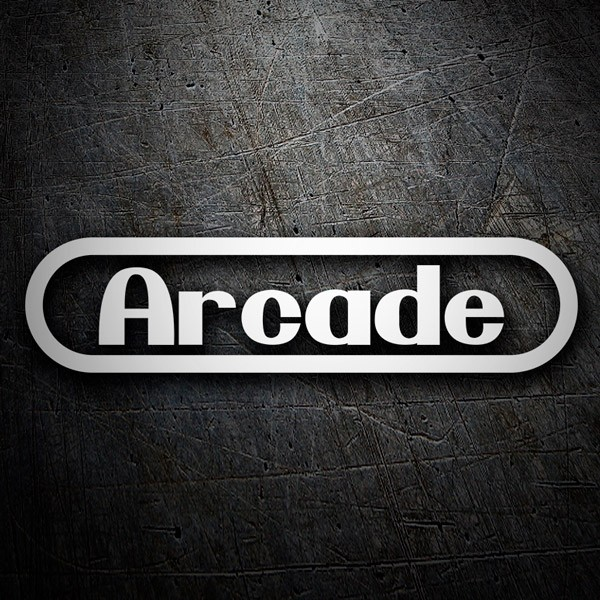 Car & Motorbike Stickers: Arcade