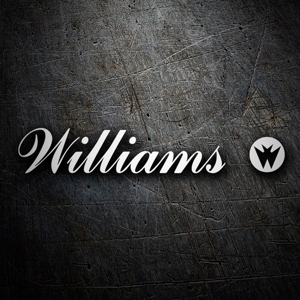 Car & Motorbike Stickers: Williams Entertainment Logo