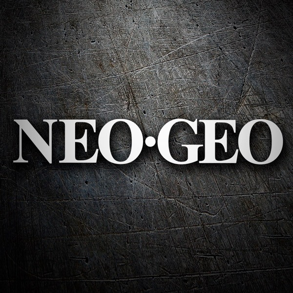 Car & Motorbike Stickers: NEO GEO Logo