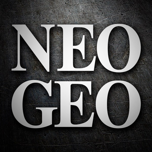 Car & Motorbike Stickers: NEO GEO