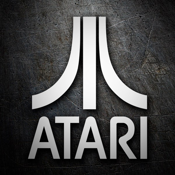 Car & Motorbike Stickers: Atari