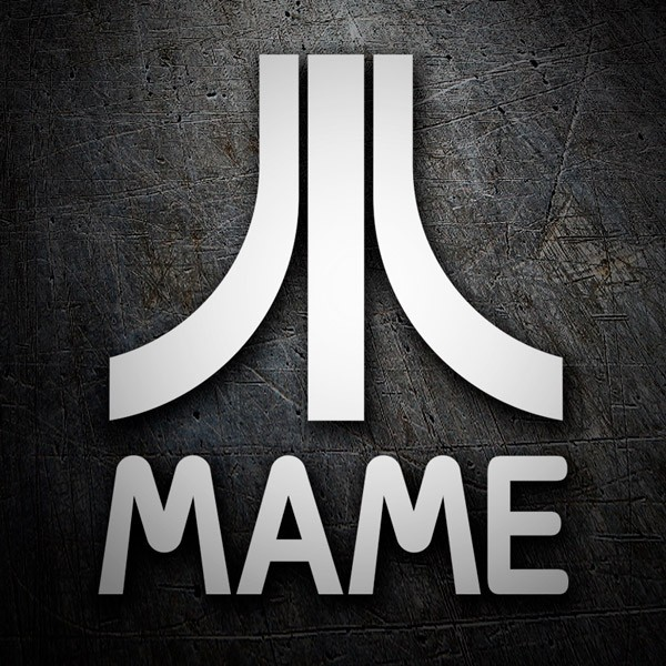 Car & Motorbike Stickers: Mame Arcade