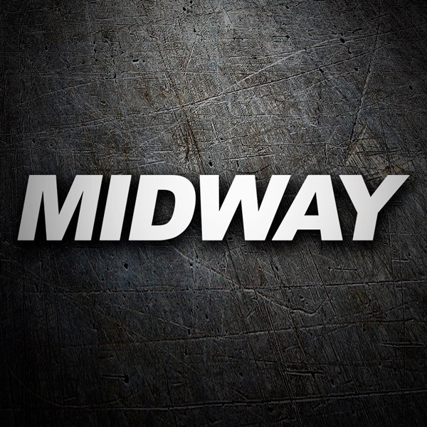 Car & Motorbike Stickers: Midway