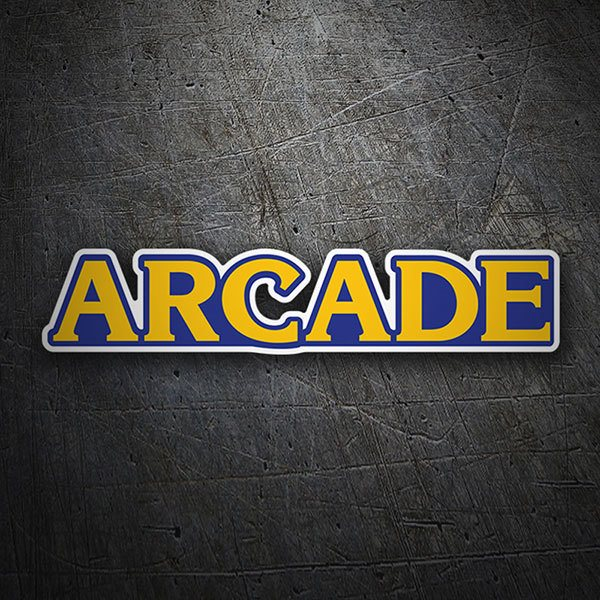 Car & Motorbike Stickers: Arcade Version Capcom