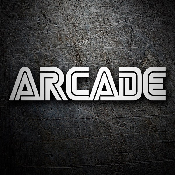 Car & Motorbike Stickers: Arcade type Sega
