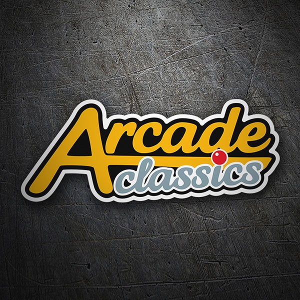 Car & Motorbike Stickers: Arcade Classics