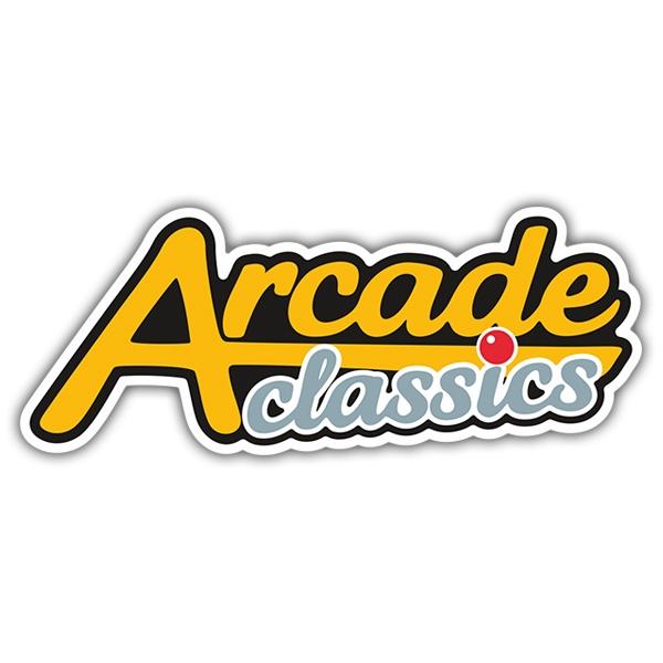 Sticker Arcade Classics Muraldecal Com