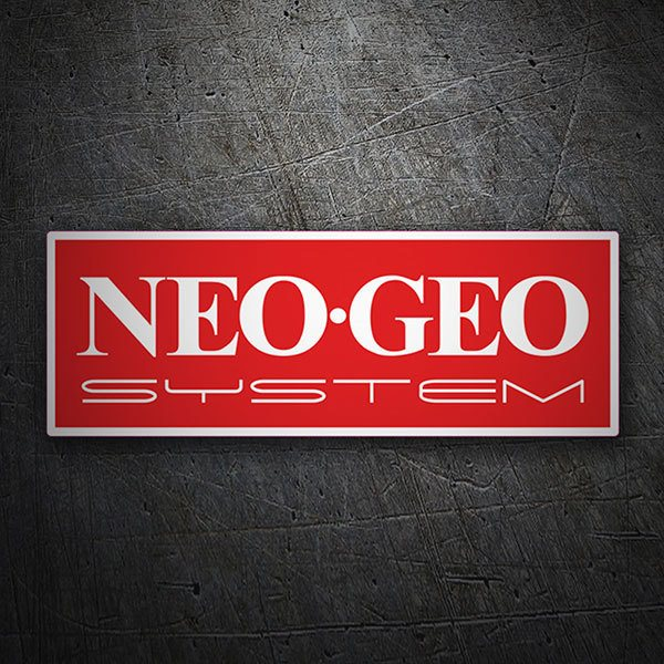 Car & Motorbike Stickers: Neo-Geo System