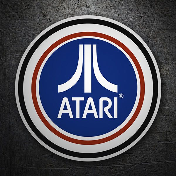 Car & Motorbike Stickers: Atari patch