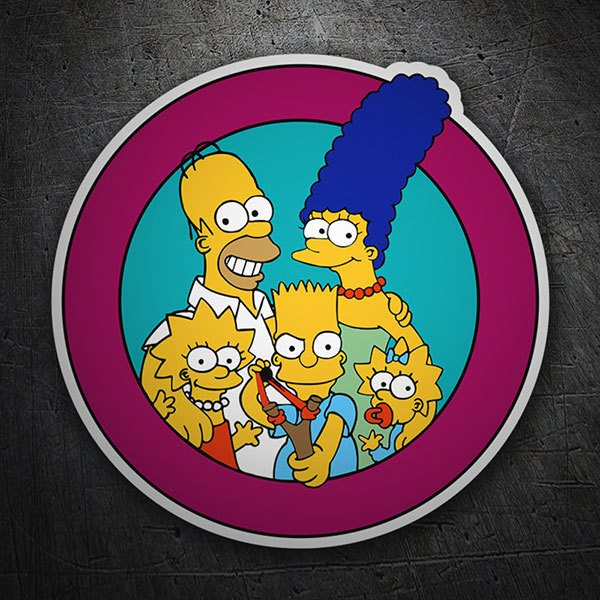 Car & Motorbike Stickers: Simpson Patch