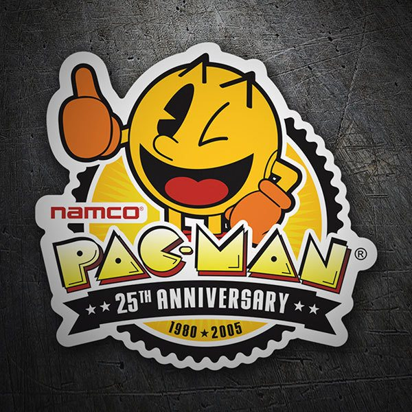 Car & Motorbike Stickers: Pac-Man 25th Anniversary