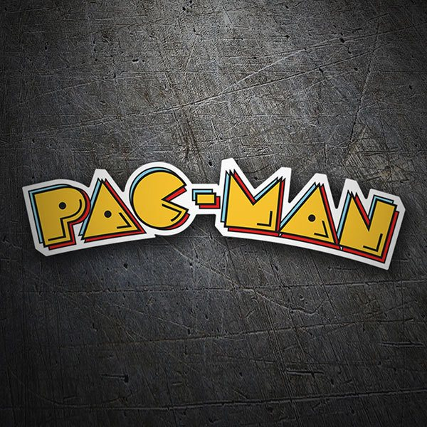 Car & Motorbike Stickers: Pac-Man Logo
