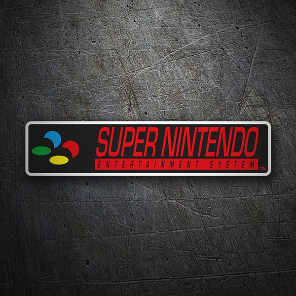 Car & Motorbike Stickers: Super Nintendo