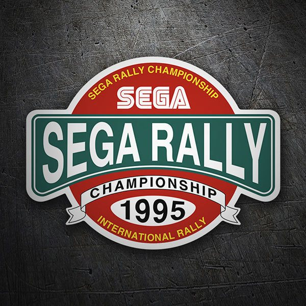 Car & Motorbike Stickers: Sega Rally Championship
