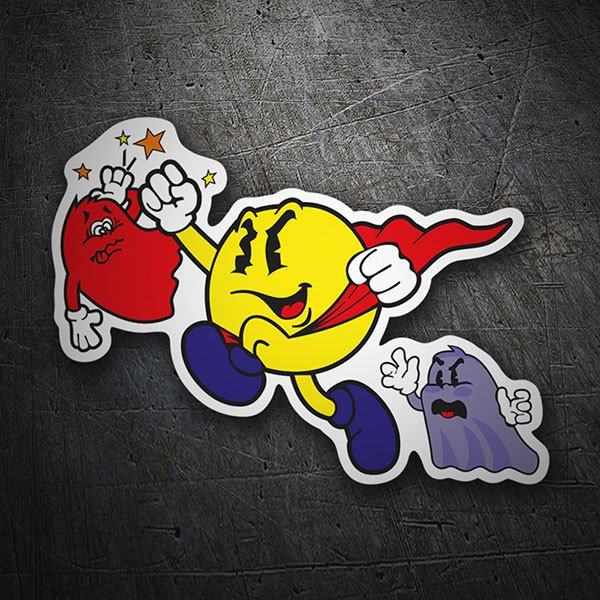 Car & Motorbike Stickers: Super Pac-Man