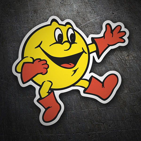 Car & Motorbike Stickers: Pac-Man Dance