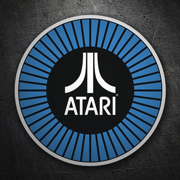 Car & Motorbike Stickers: Atari cockade