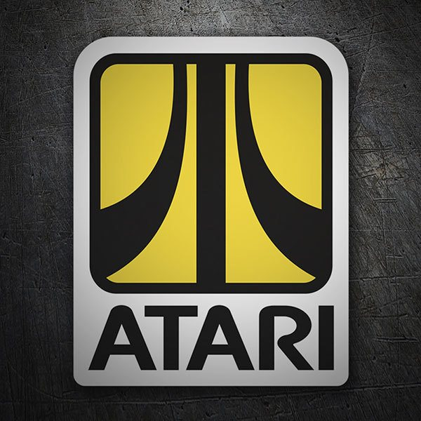 Car & Motorbike Stickers: Atari Retro